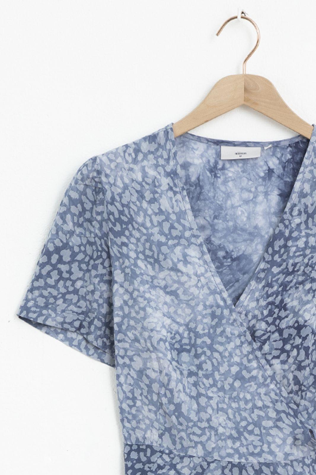 Minimum jurk Maiya 8076 blauw
