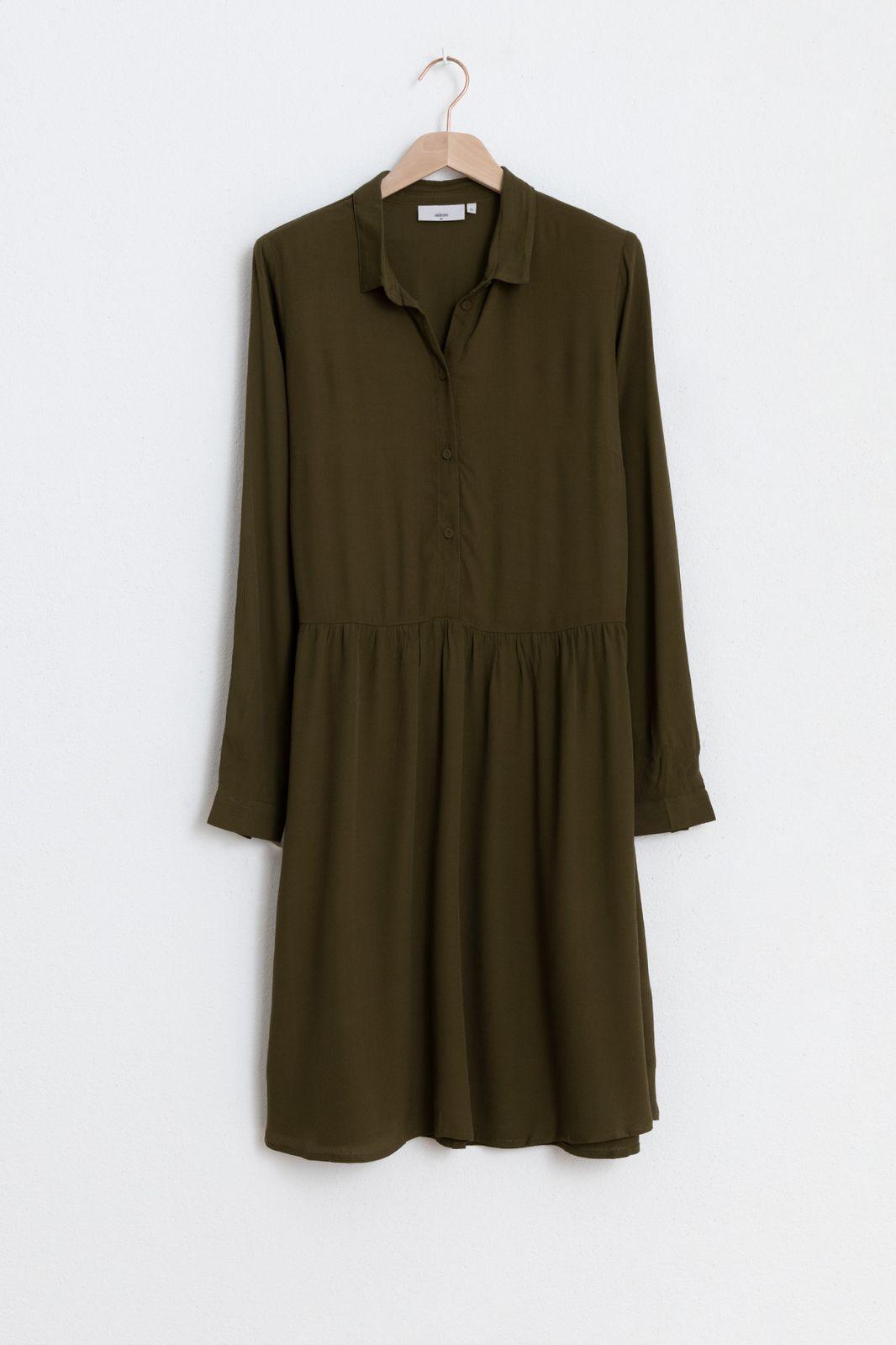 Minimum dress bindie 121 donkergroen