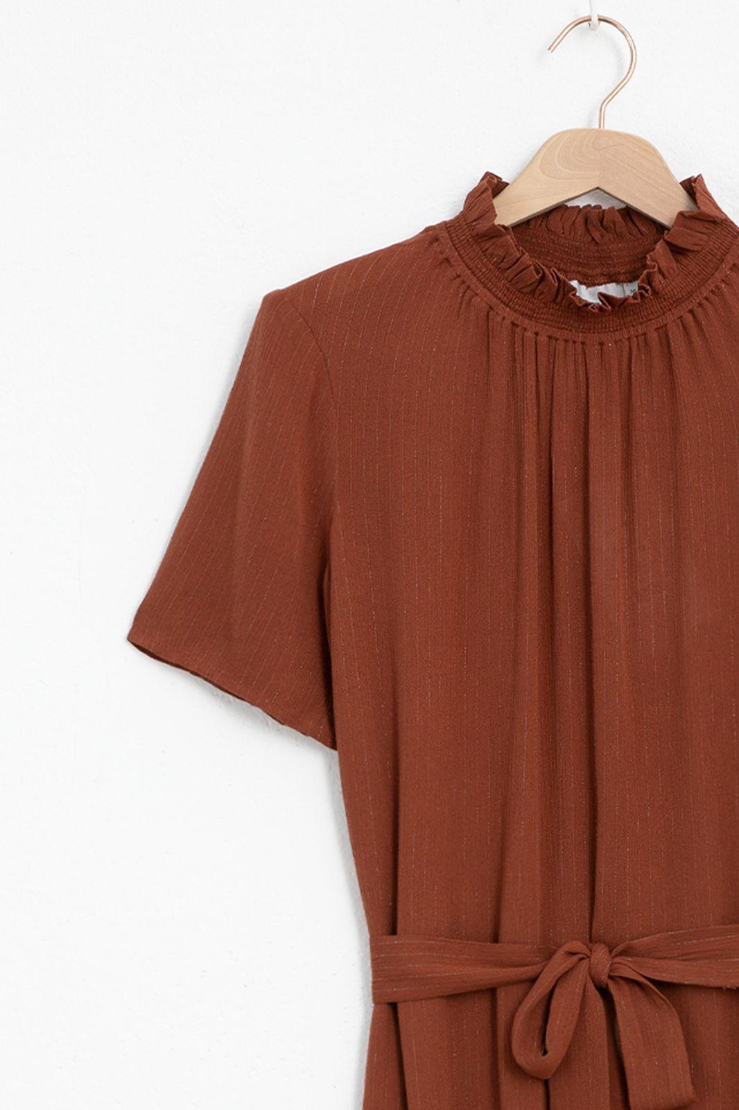 Minimum Larma midi jurk 9090 Smoked paprika - Dames | Sissy-Boy