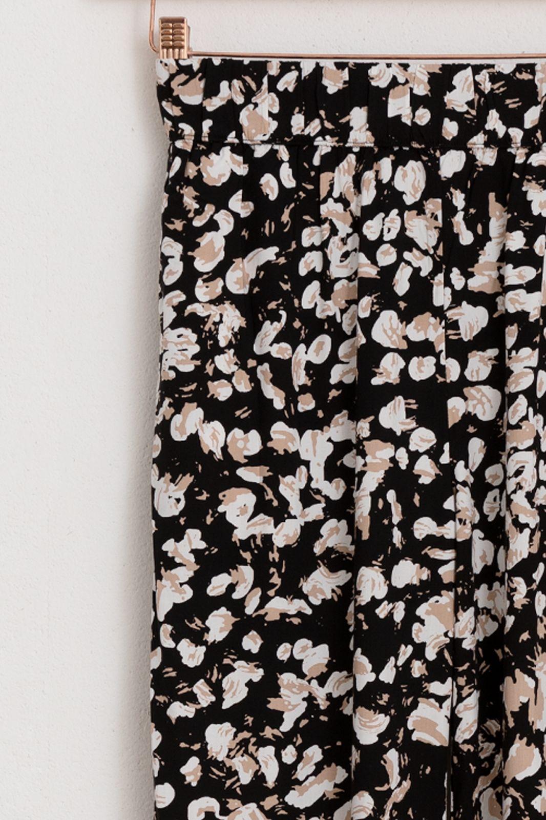 Minimum zwarte pantalon pialina casual pant 7146
