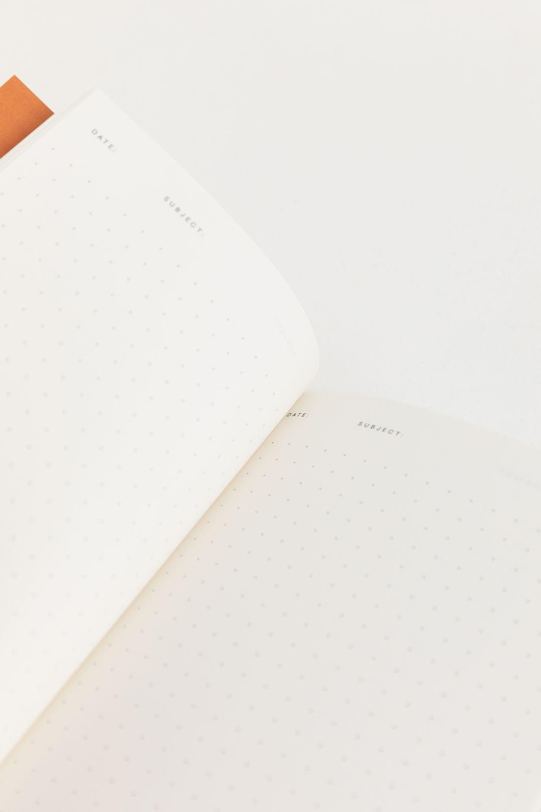 Notem notitieboekje rood
