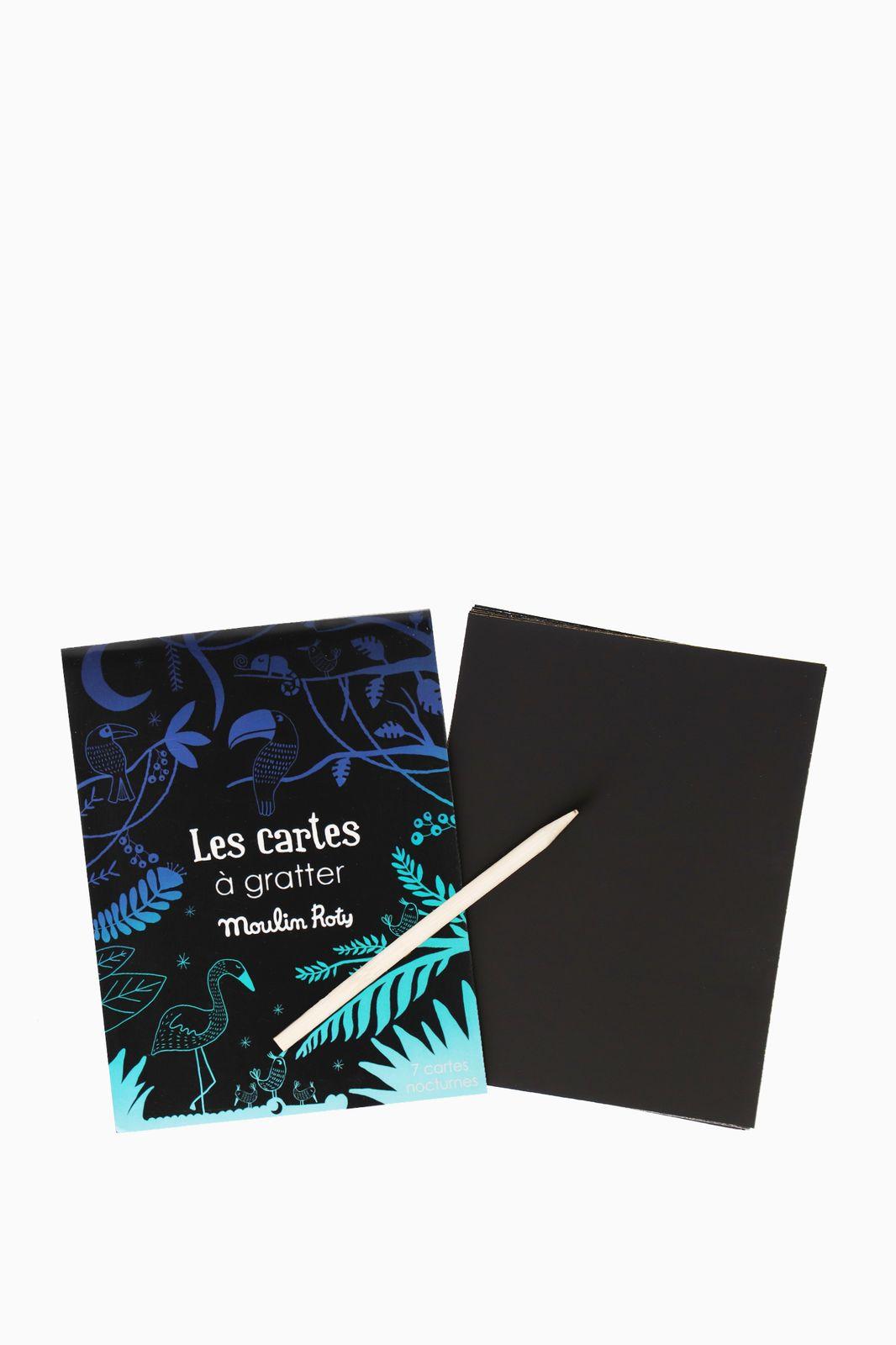 Moulin Roty kraskaarten blauw/groen - Homeland | Sissy-Boy