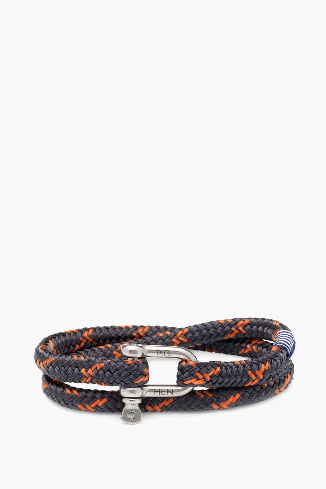 pig & Hen Salty Steve armband oranje - Heren   Sissy-Boy