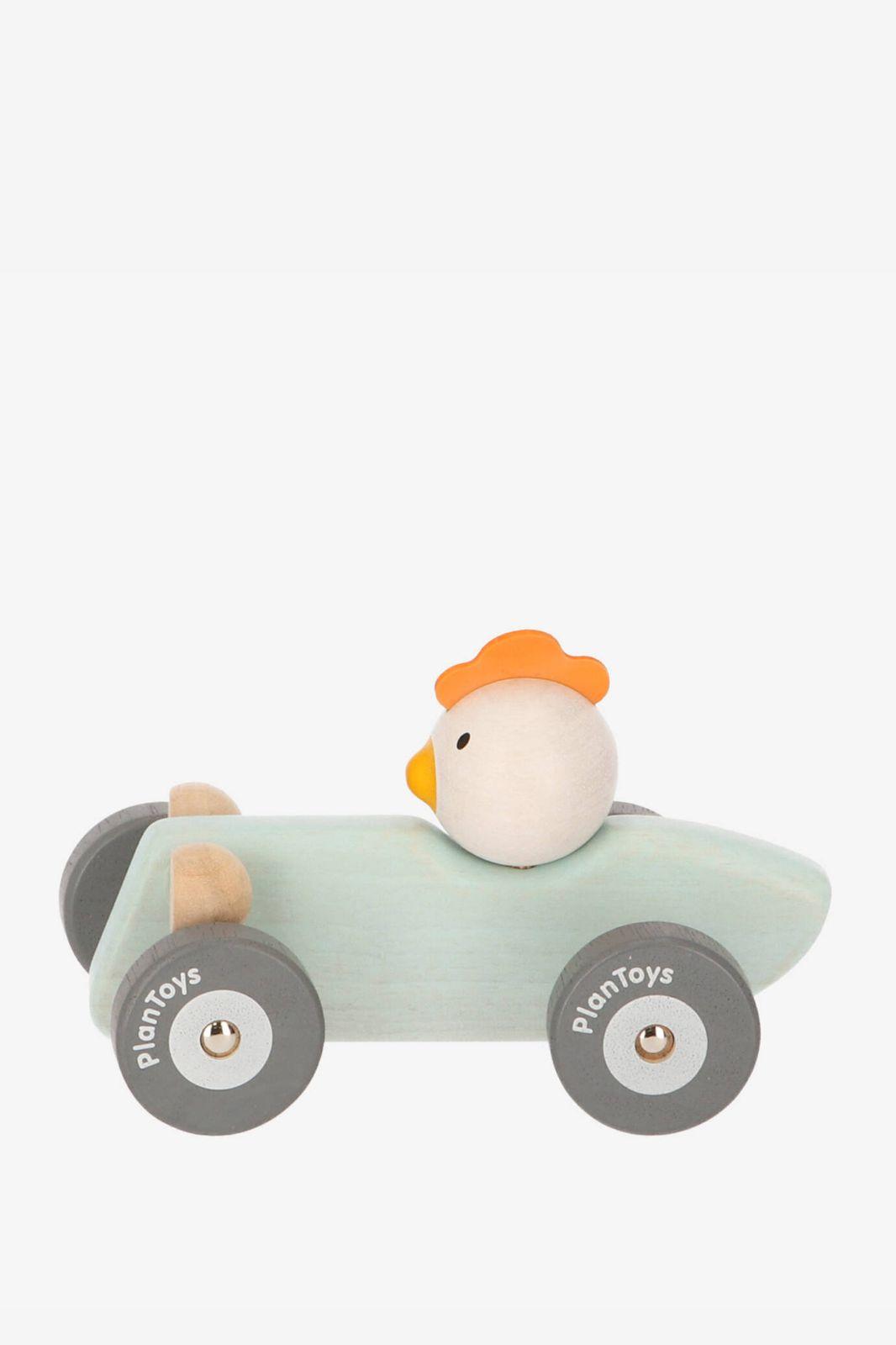 Plantoys Racewagen met kip