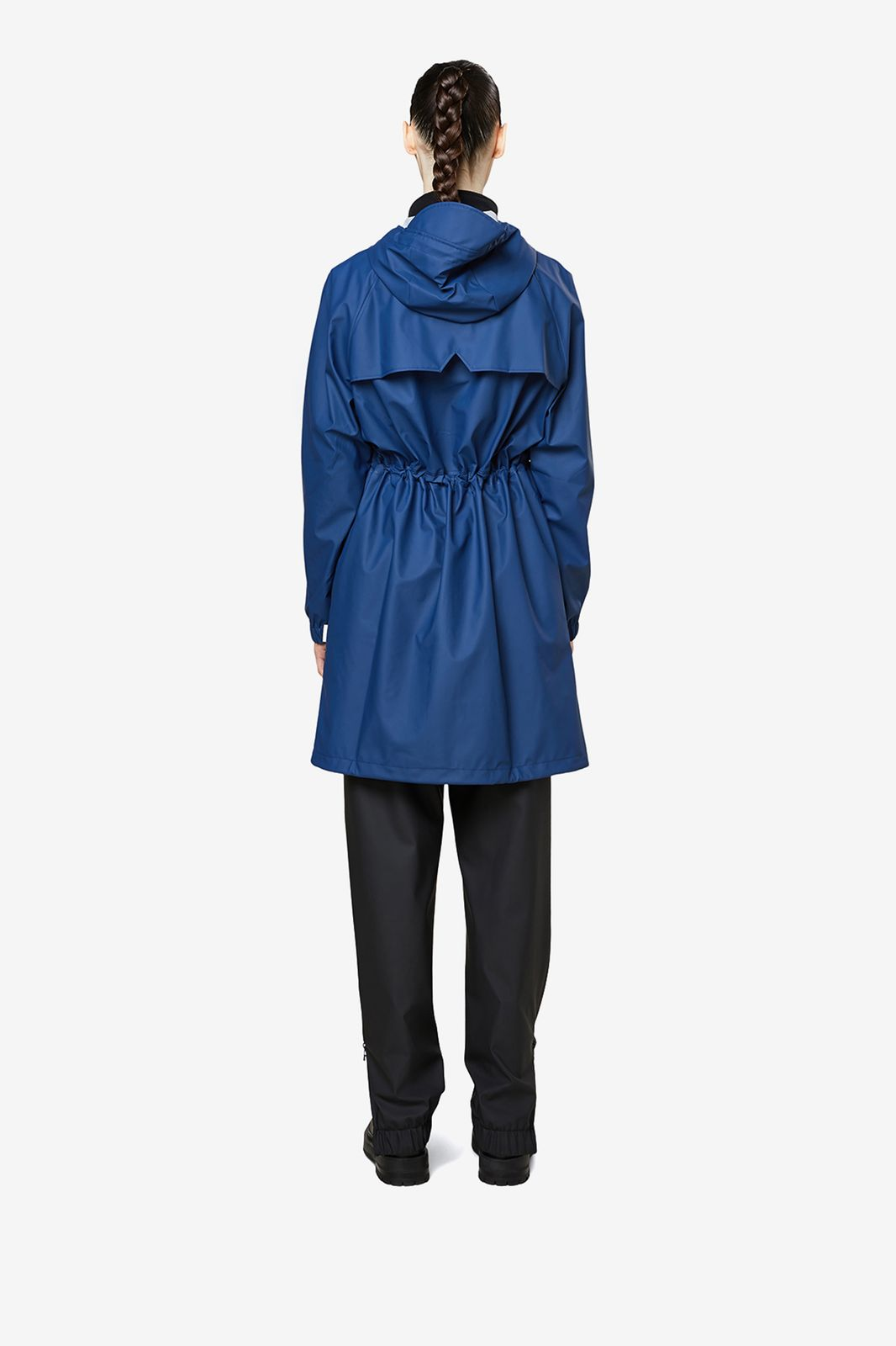 Rains 1278 Long W Jacket donkerblauw - Dames | Sissy-Boy