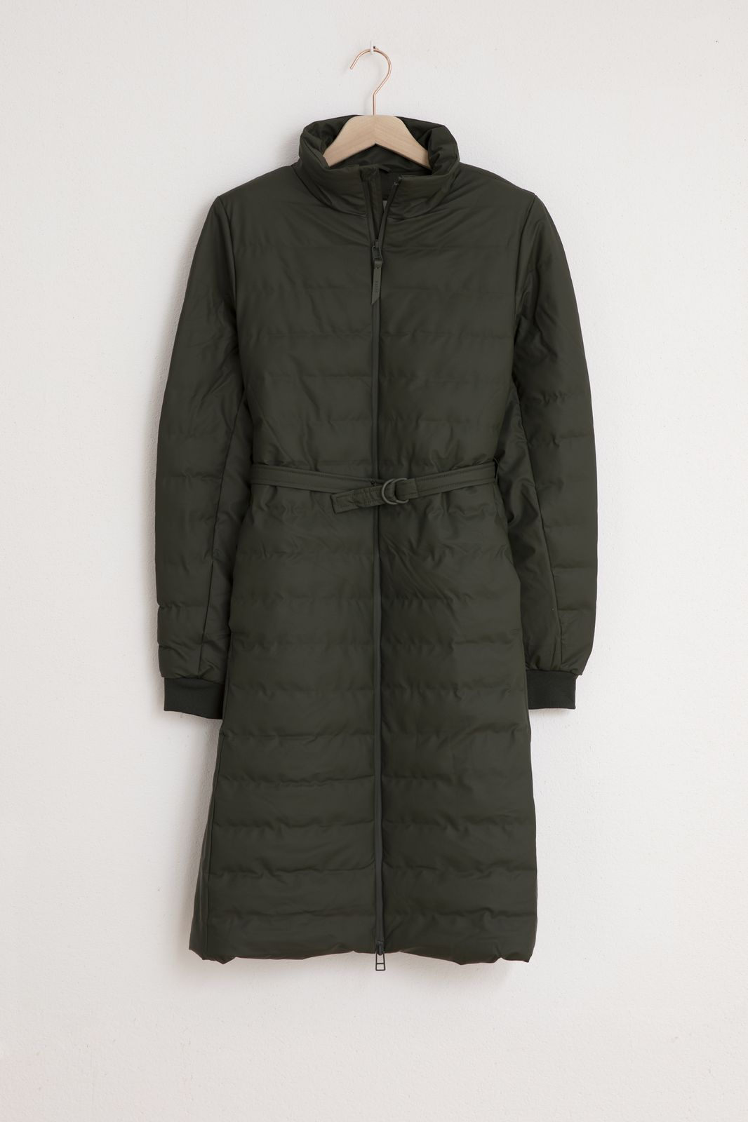 Rains Trekker W Coat 1529 donkergroen - Dames | Sissy-Boy