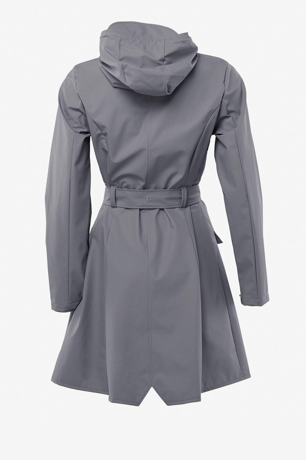 Rains curve jacket 1206 grijs - Dames | Sissy-Boy