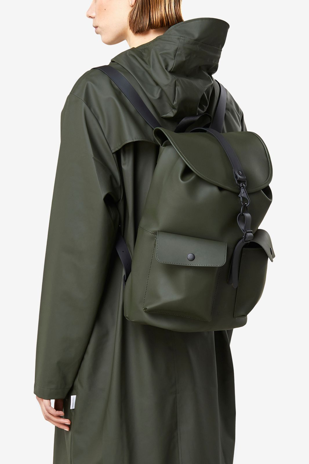 Rains Camp Backpack olijfgroen