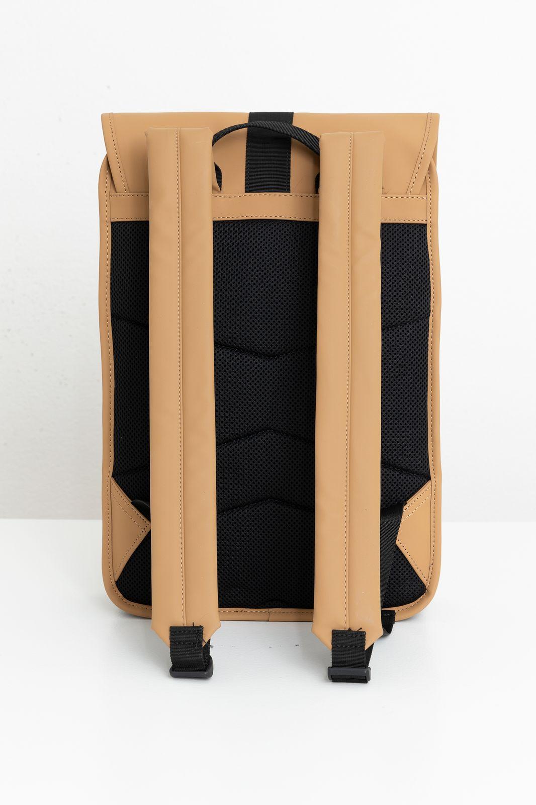 Rains Buckle Backpack Mini bruin - Heren | Sissy-Boy