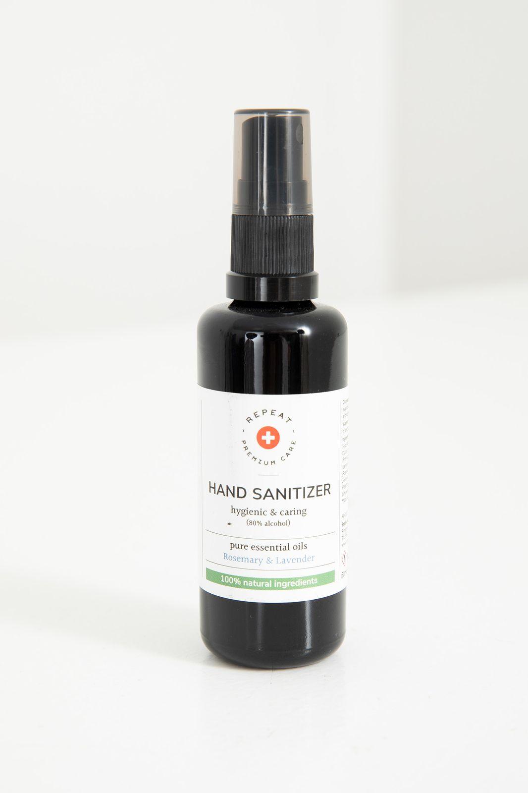 Repeat skincare hand sanitizer rosemary & lavendel