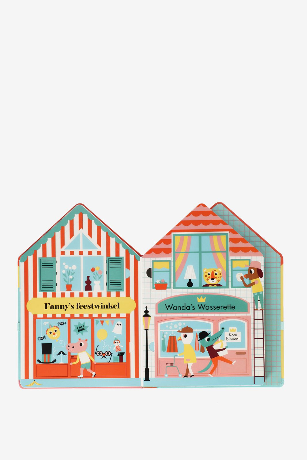 Boek de winkelstraat - Homeland | Sissy-Boy