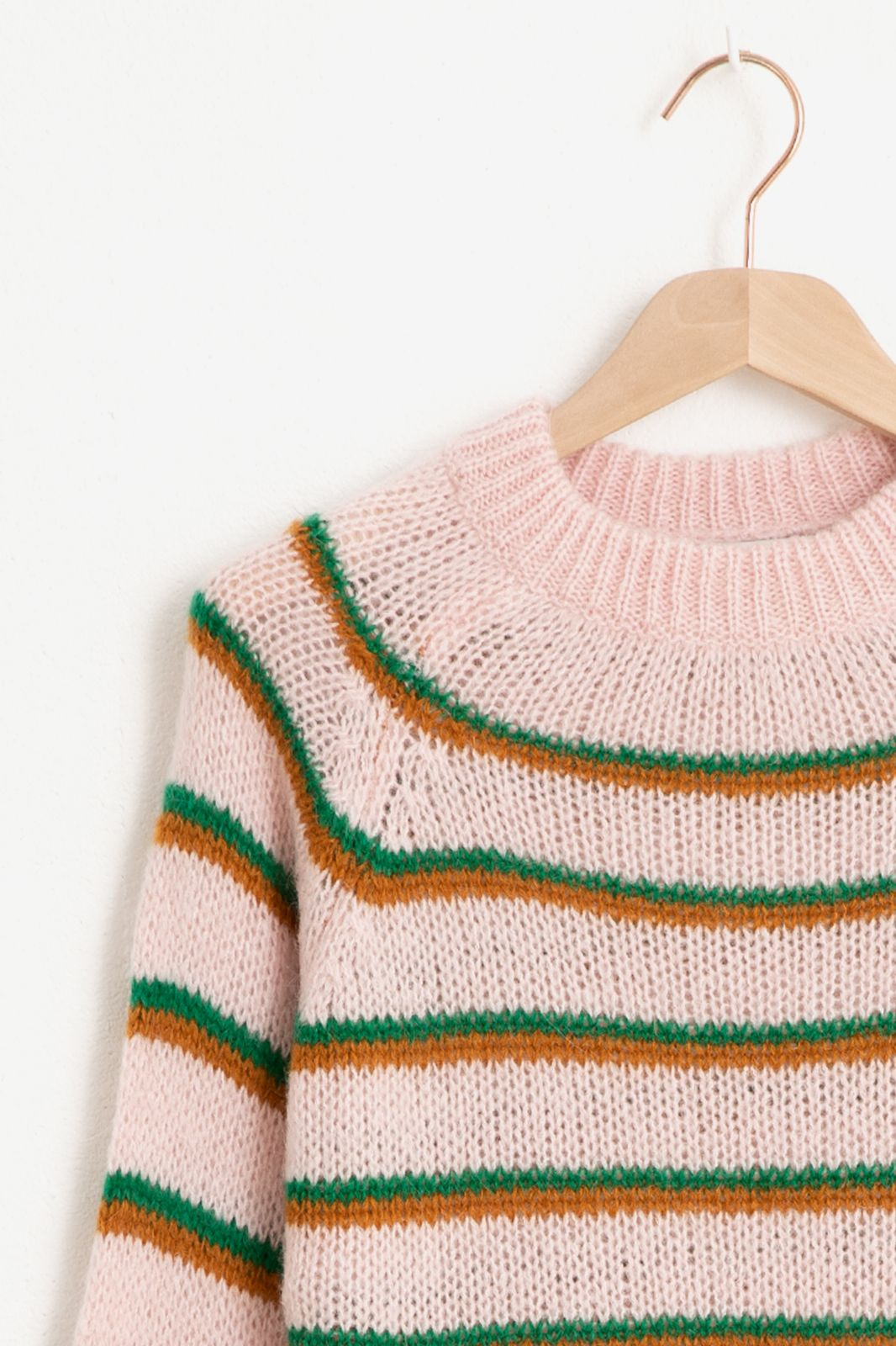 Multicolor gestreepte trui - Dames | Sissy-Boy