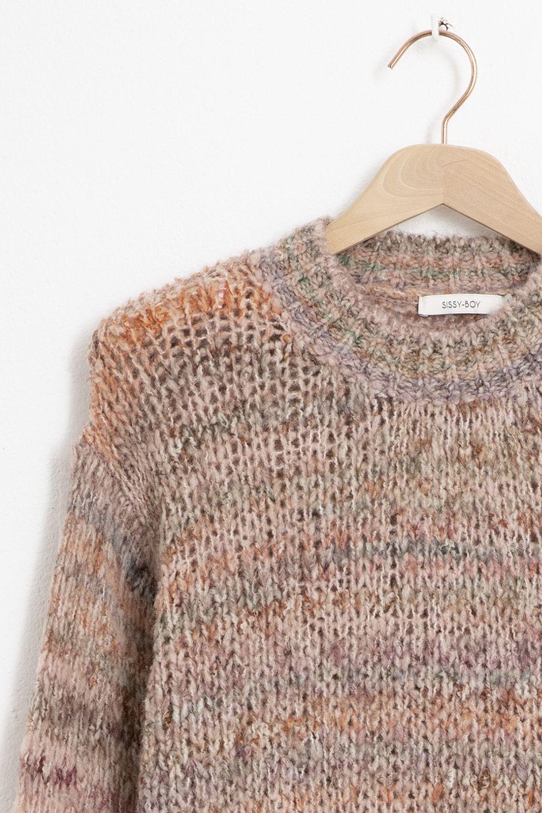 Multicolour yarn pullover - Dames | Sissy-Boy