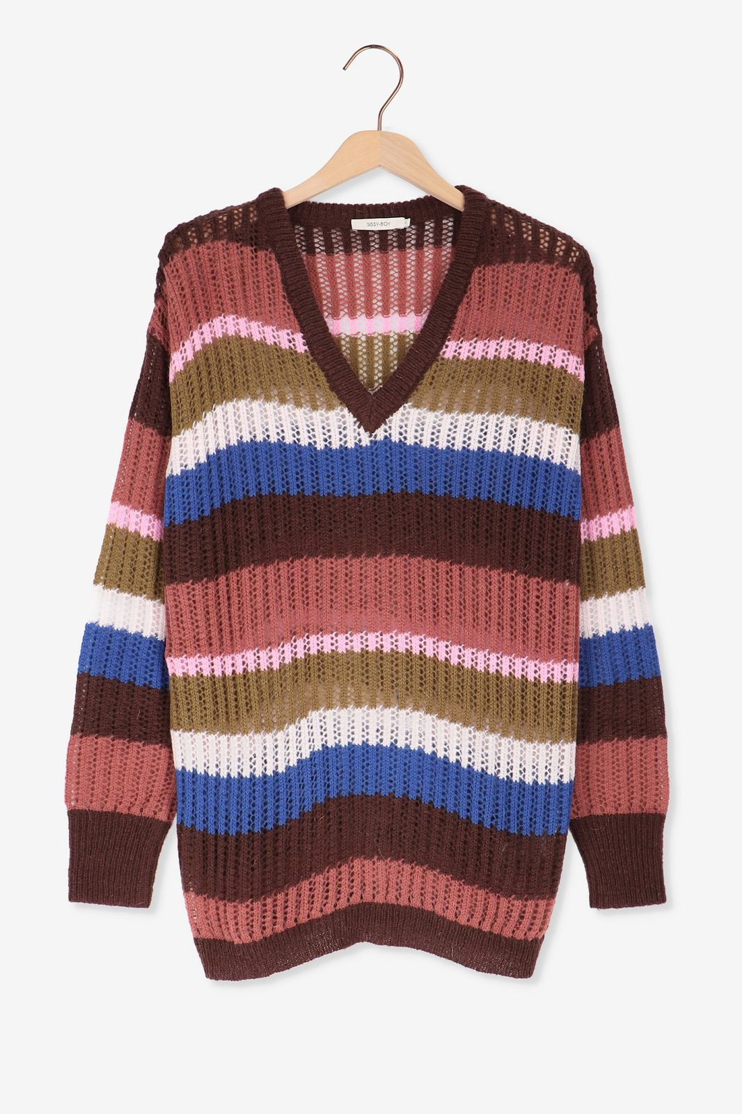 Multi-color gebreide trui - Dames | Sissy-Boy
