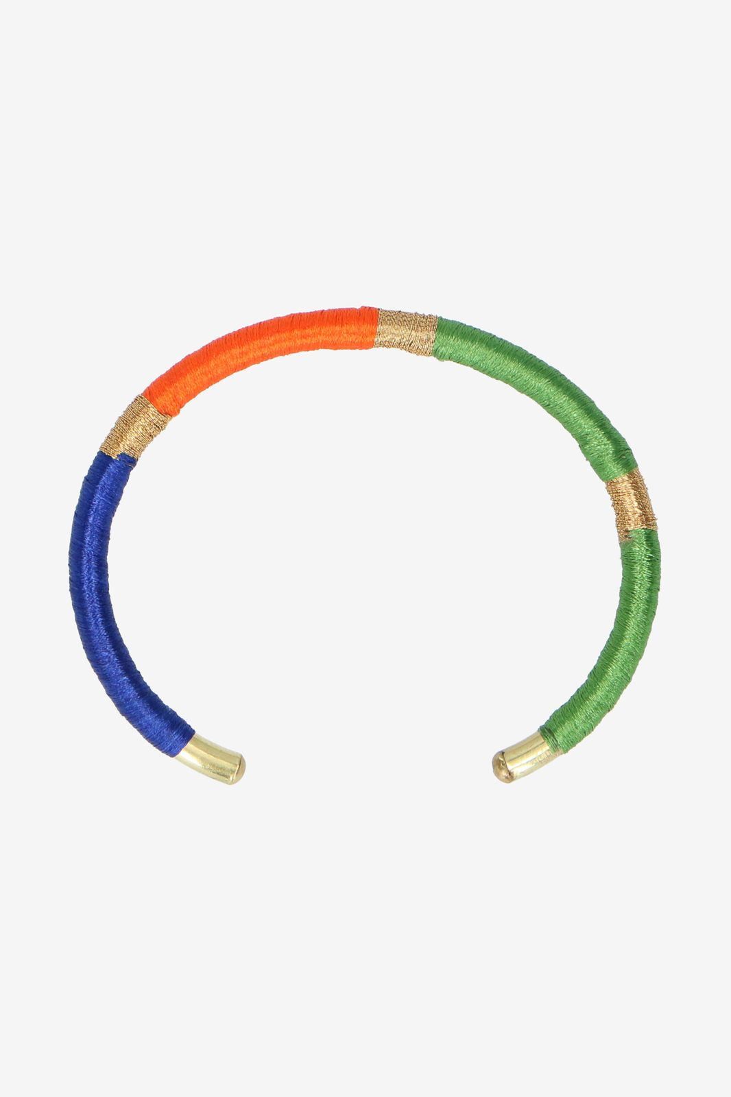 Multicolor handmade armbandje rond