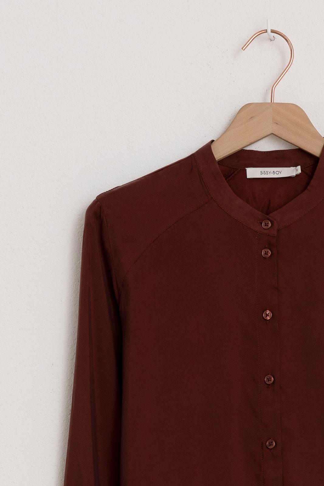 Donkerrode blouse - Dames | Sissy-Boy