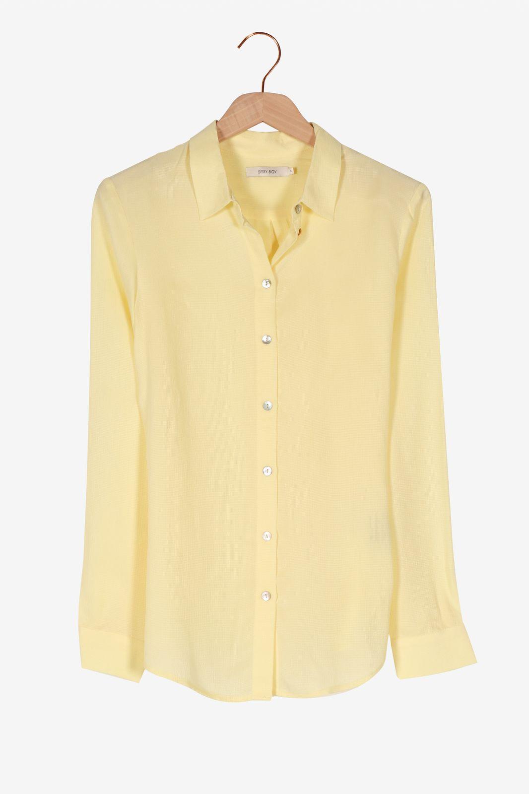 Gele blouse - Dames   Sissy-Boy