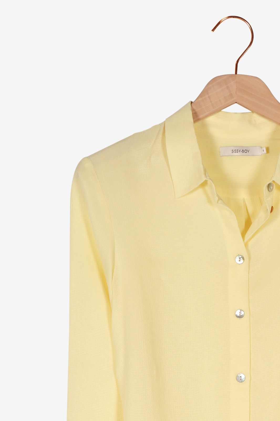 Gele blouse