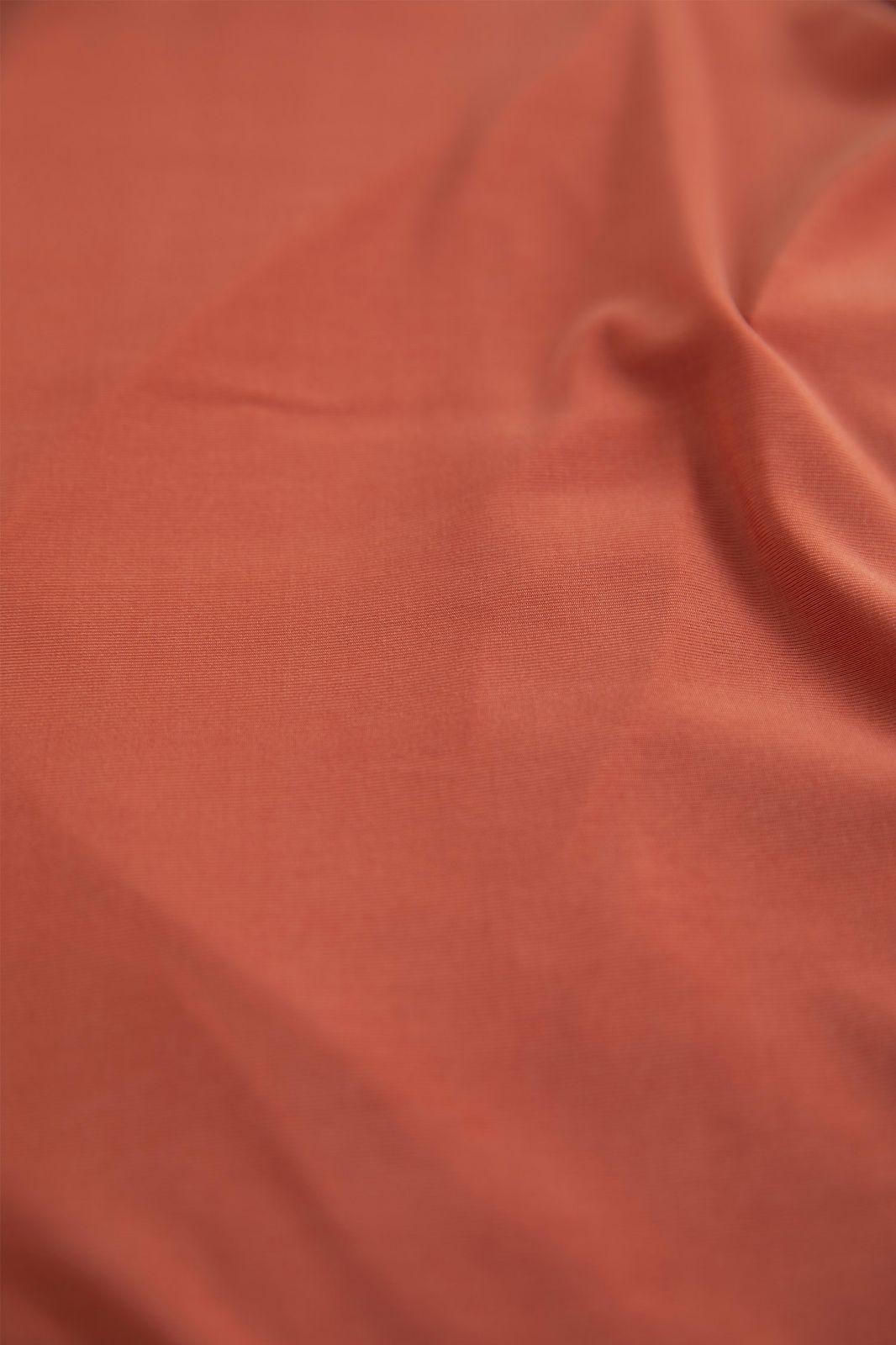 Rood cupro T-shirt