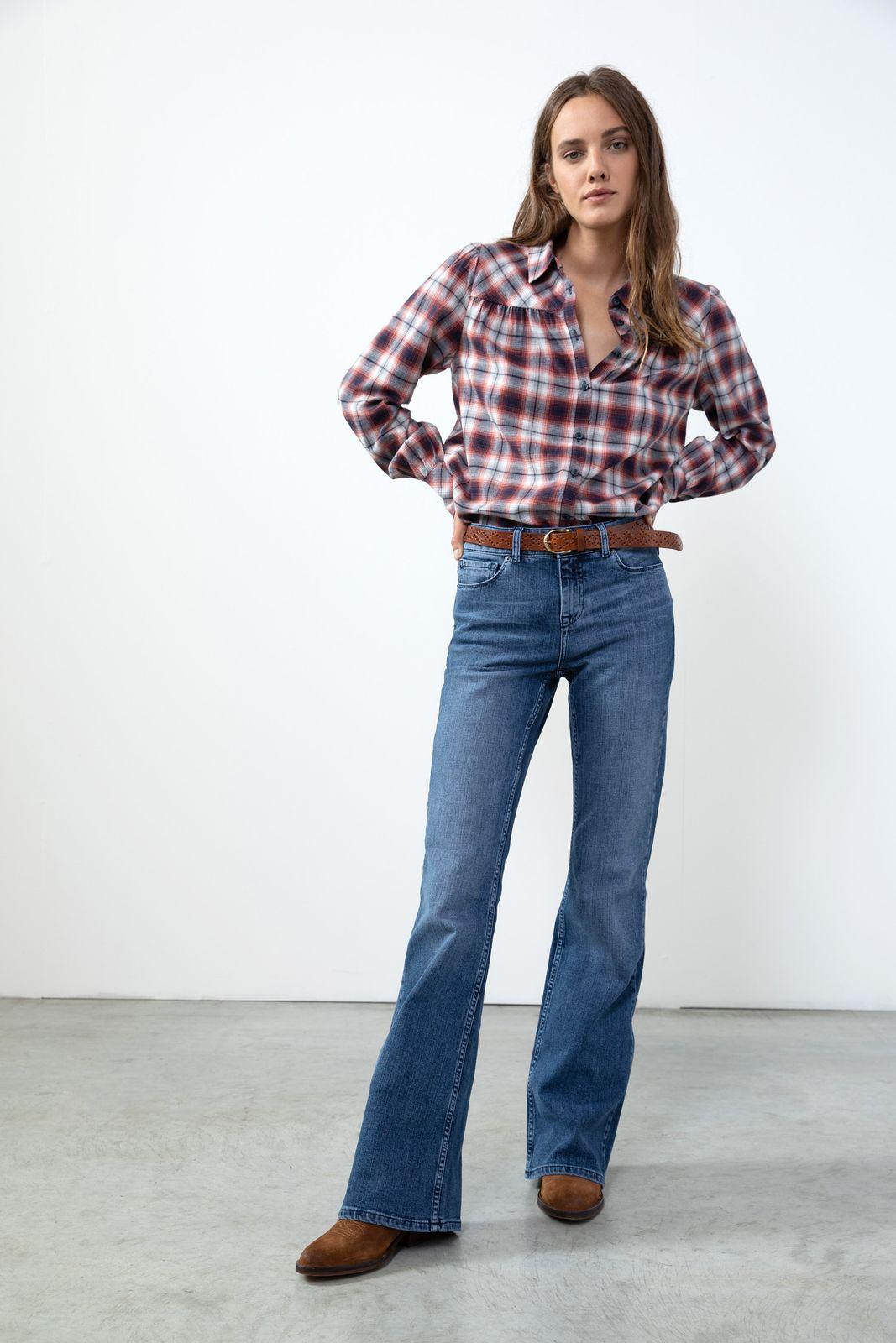 High rise flared jeans - Dames   Sissy-Boy