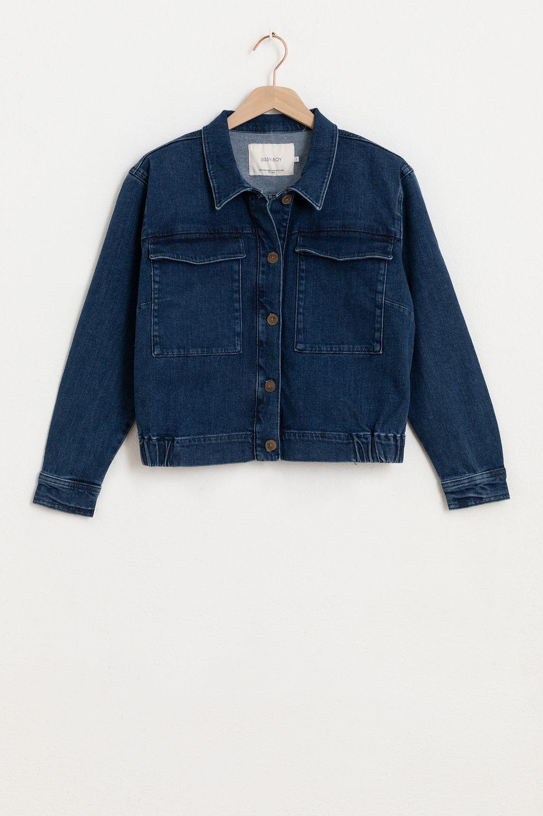 Cropped denim jacket - Dames | Sissy-Boy