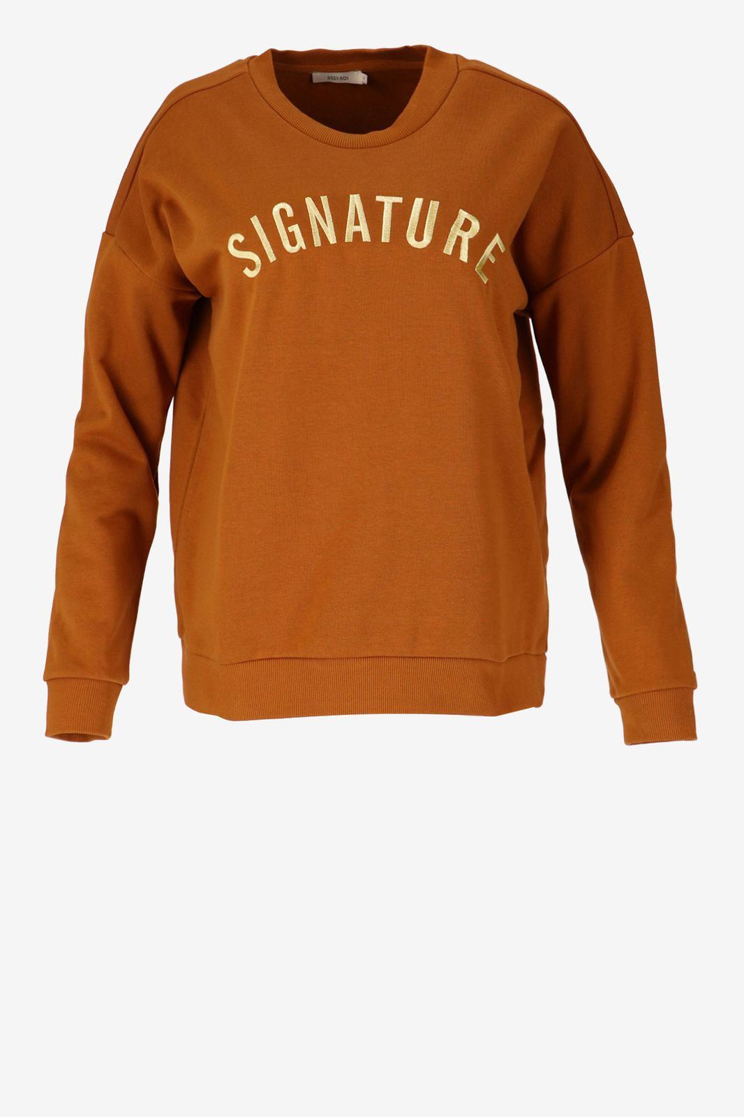 Bruine sweater Signature - Dames | Sissy-Boy
