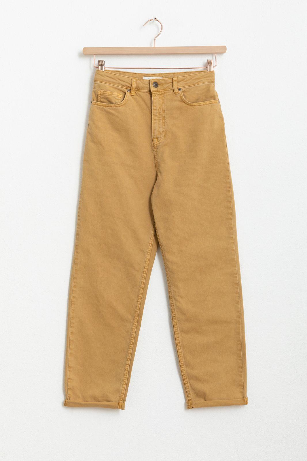 Bruine mom jeans