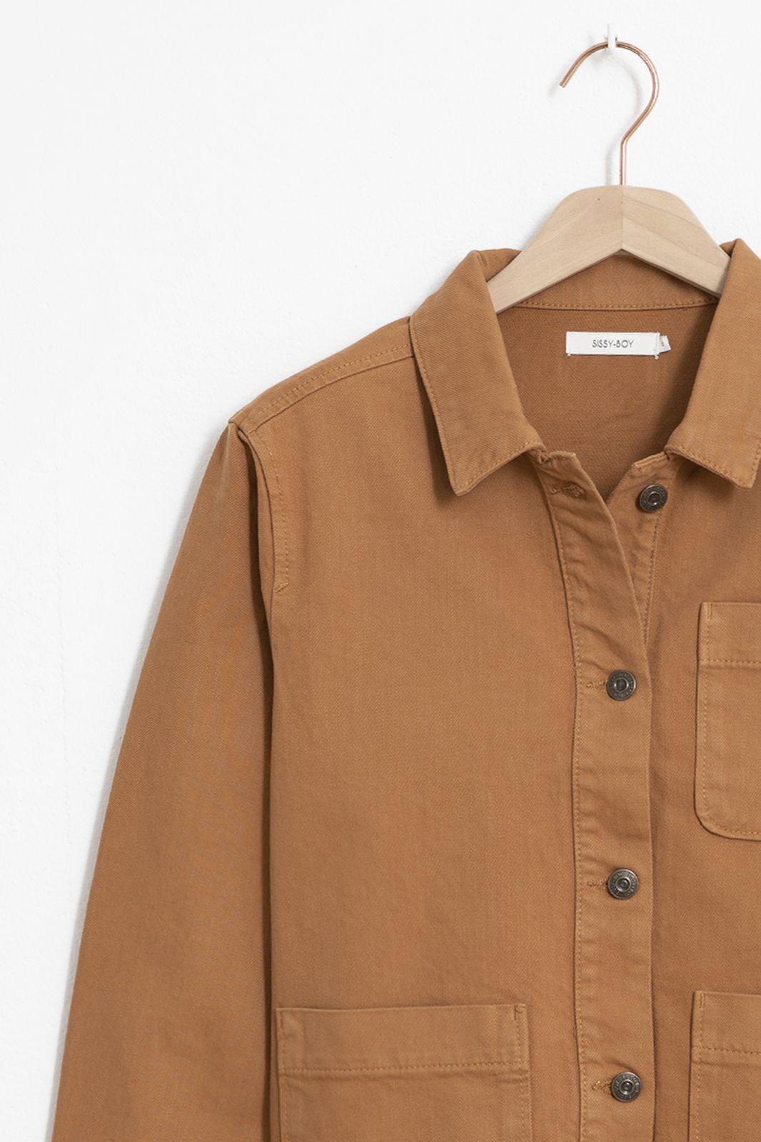 Bruin denim jacket - Dames   Sissy-Boy