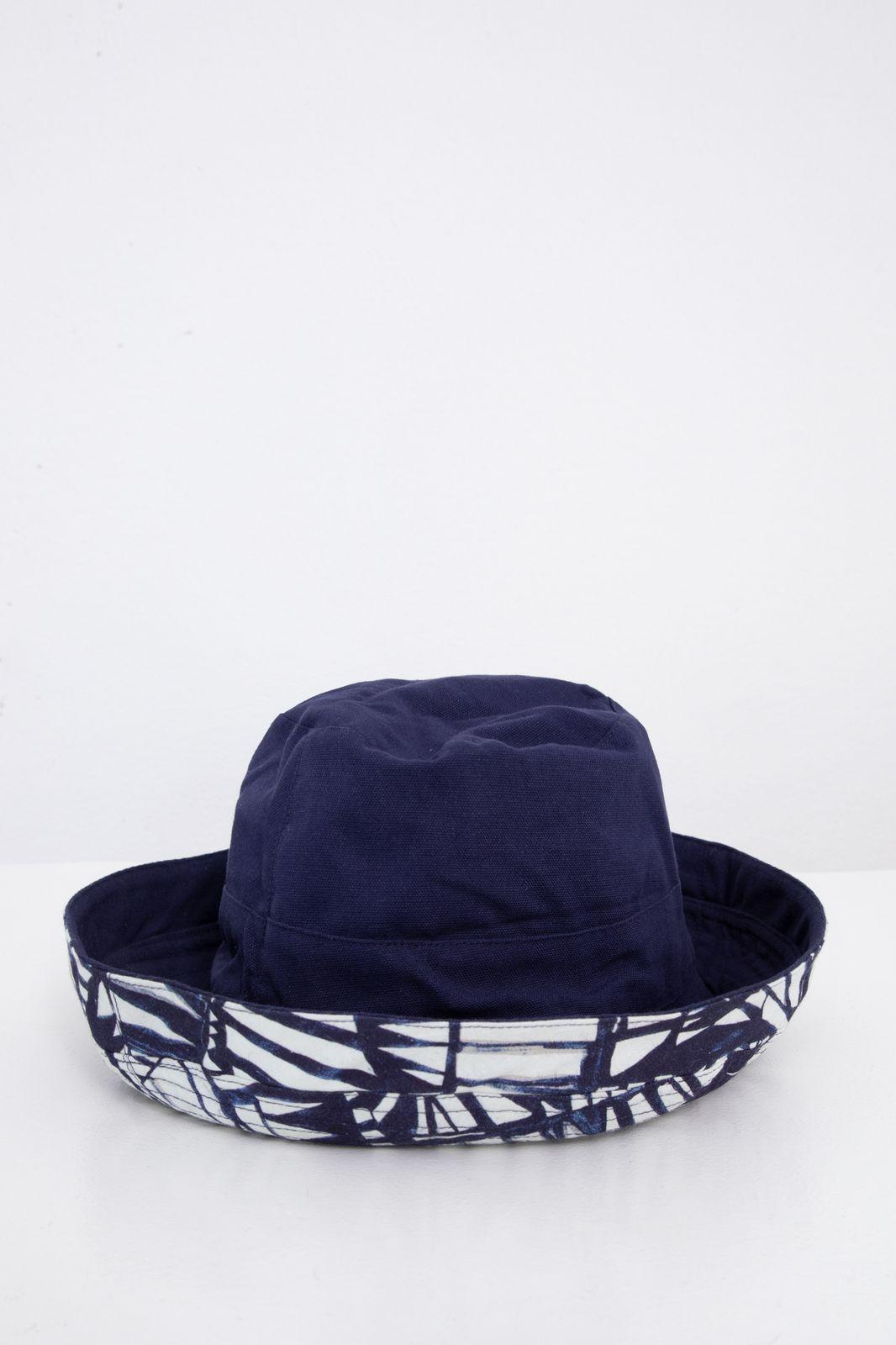 Reversible katoenen bucket hat met all over print