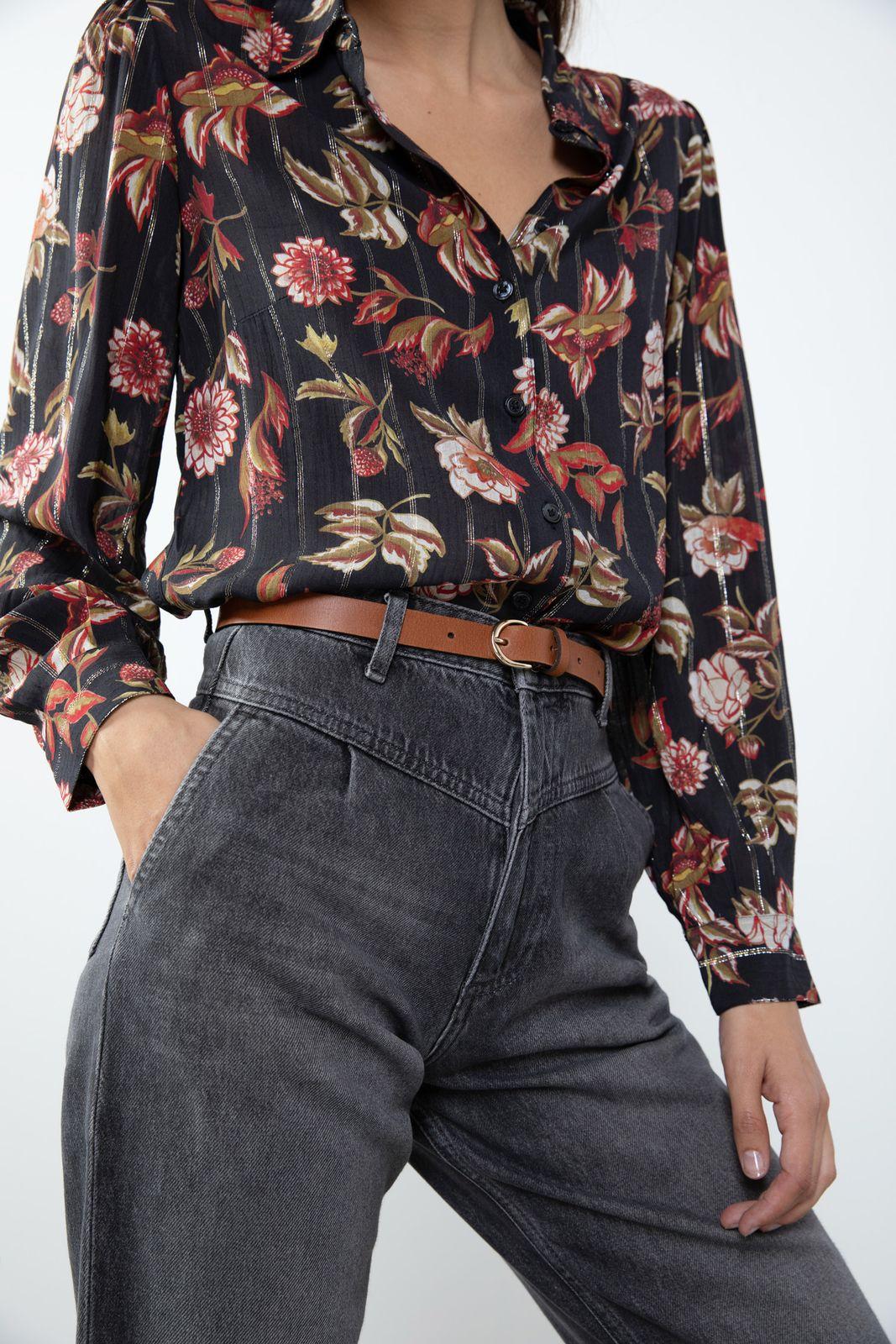 Grijze tapered jeans - Dames | Sissy-Boy