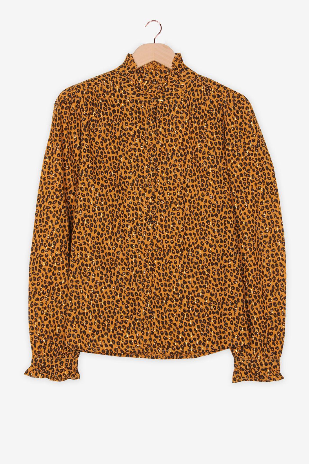 Blouse met luipaard print - Dames | Sissy-Boy