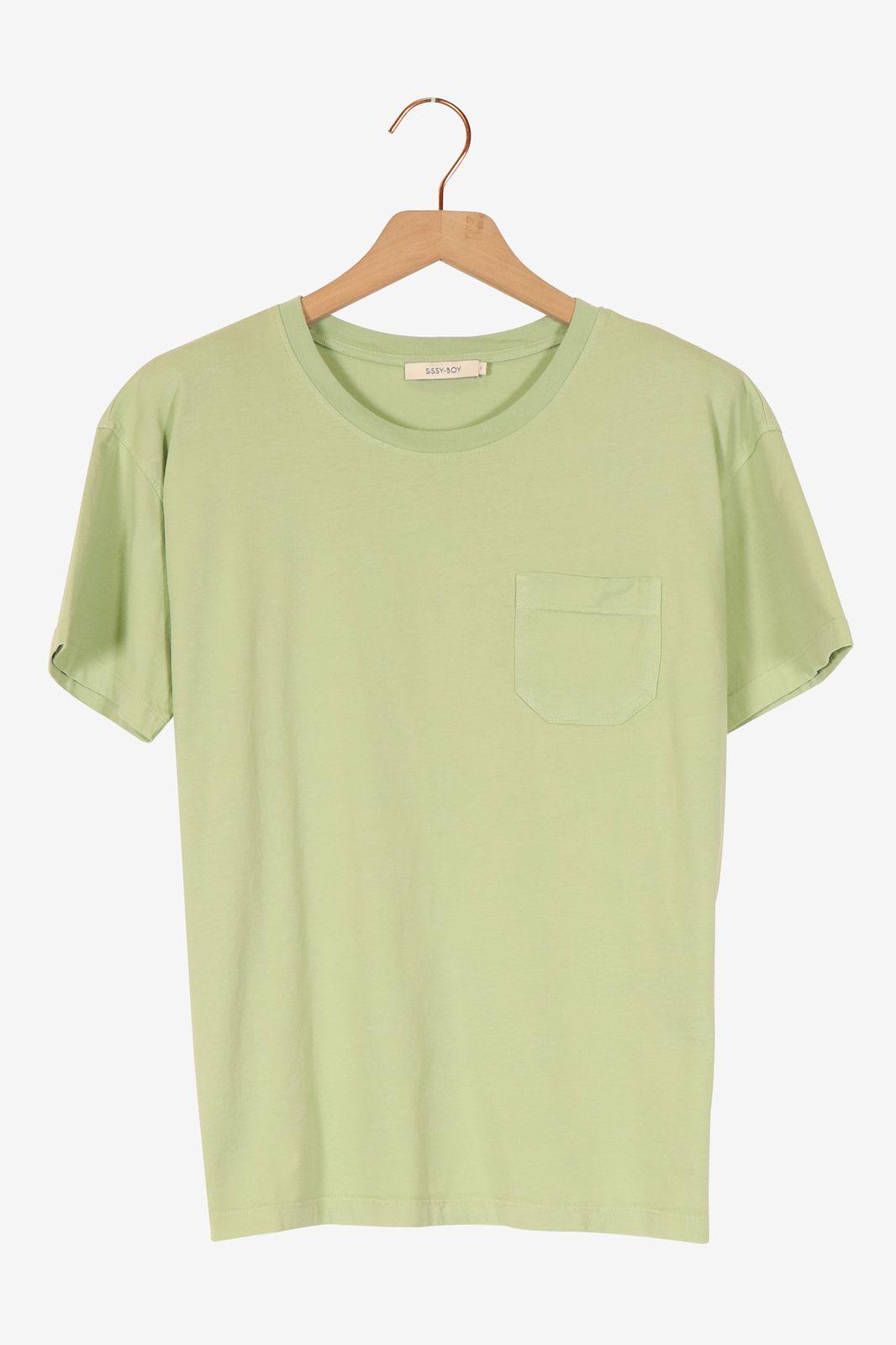 Groen T-shirt korte mouwen - Dames | Sissy-Boy