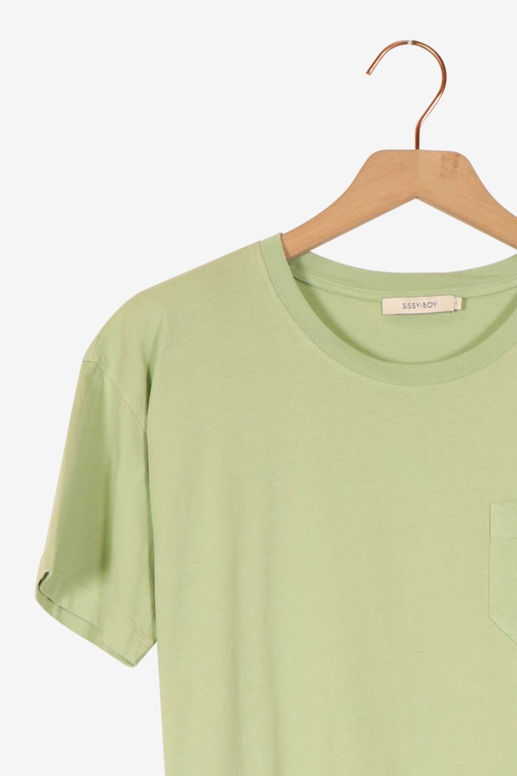 Groen T-shirt korte mouwen