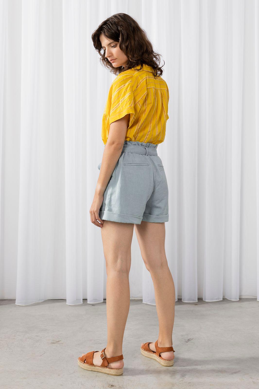 Korte paperbag jeans - Dames | Sissy-Boy