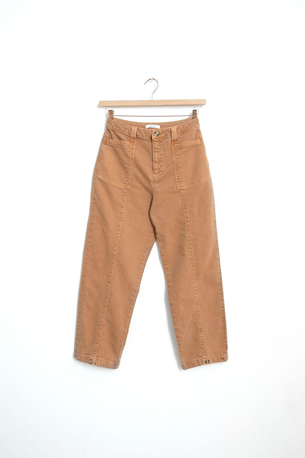 Lichtbruine worker pants - Dames   Sissy-Boy