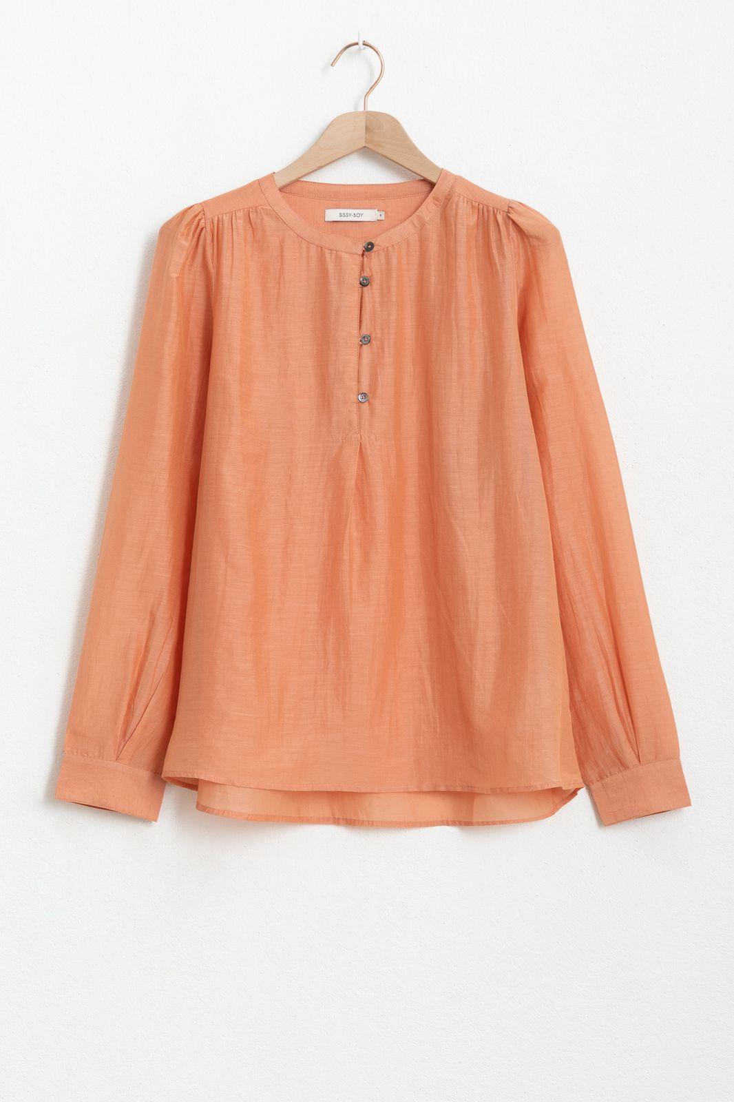 Lichtoranje blouse - Dames | Sissy-Boy