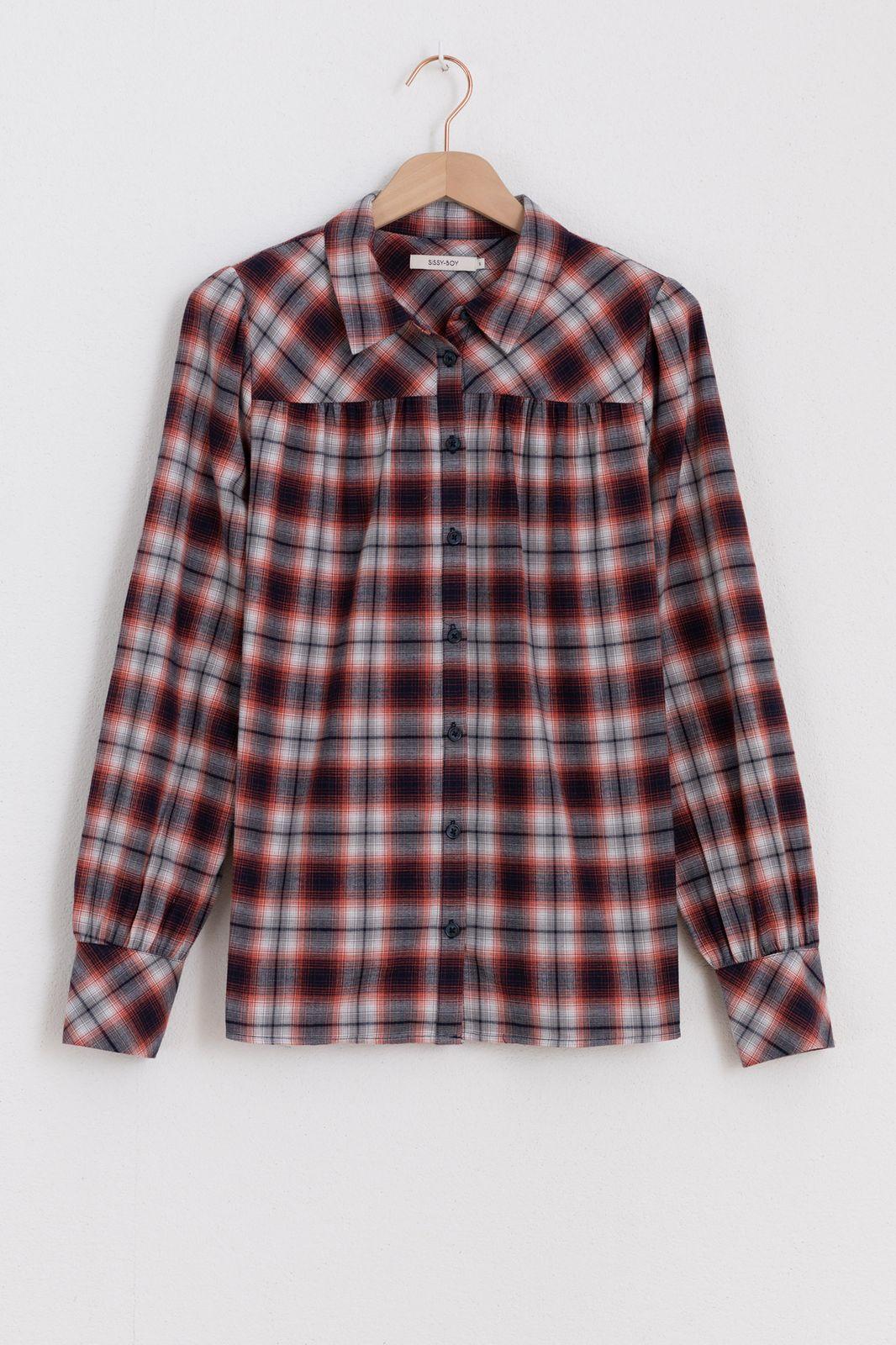 Rode geruiten blouse - Dames | Sissy-Boy