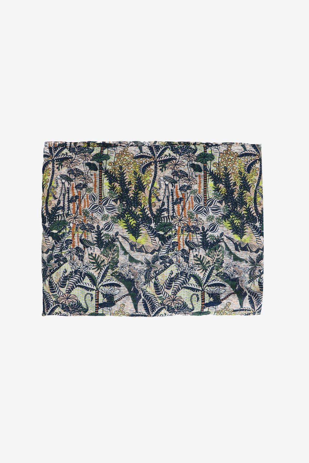 Sjaal met botanische print - Dames | Sissy-Boy