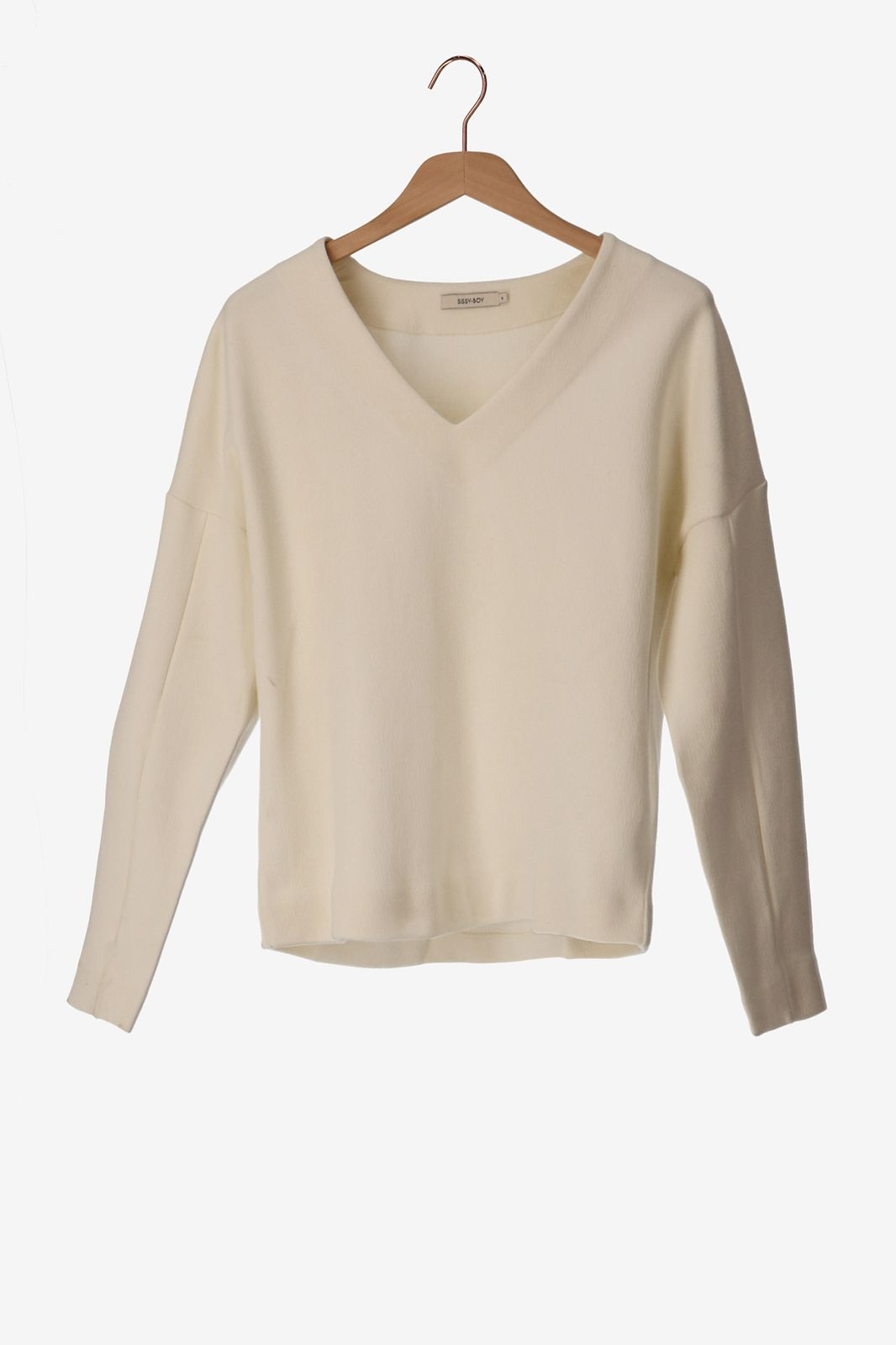 Witte sweater - Dames   Sissy-Boy