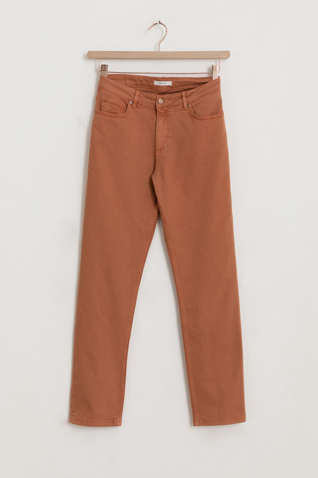 Oranje 5-pocket jeans