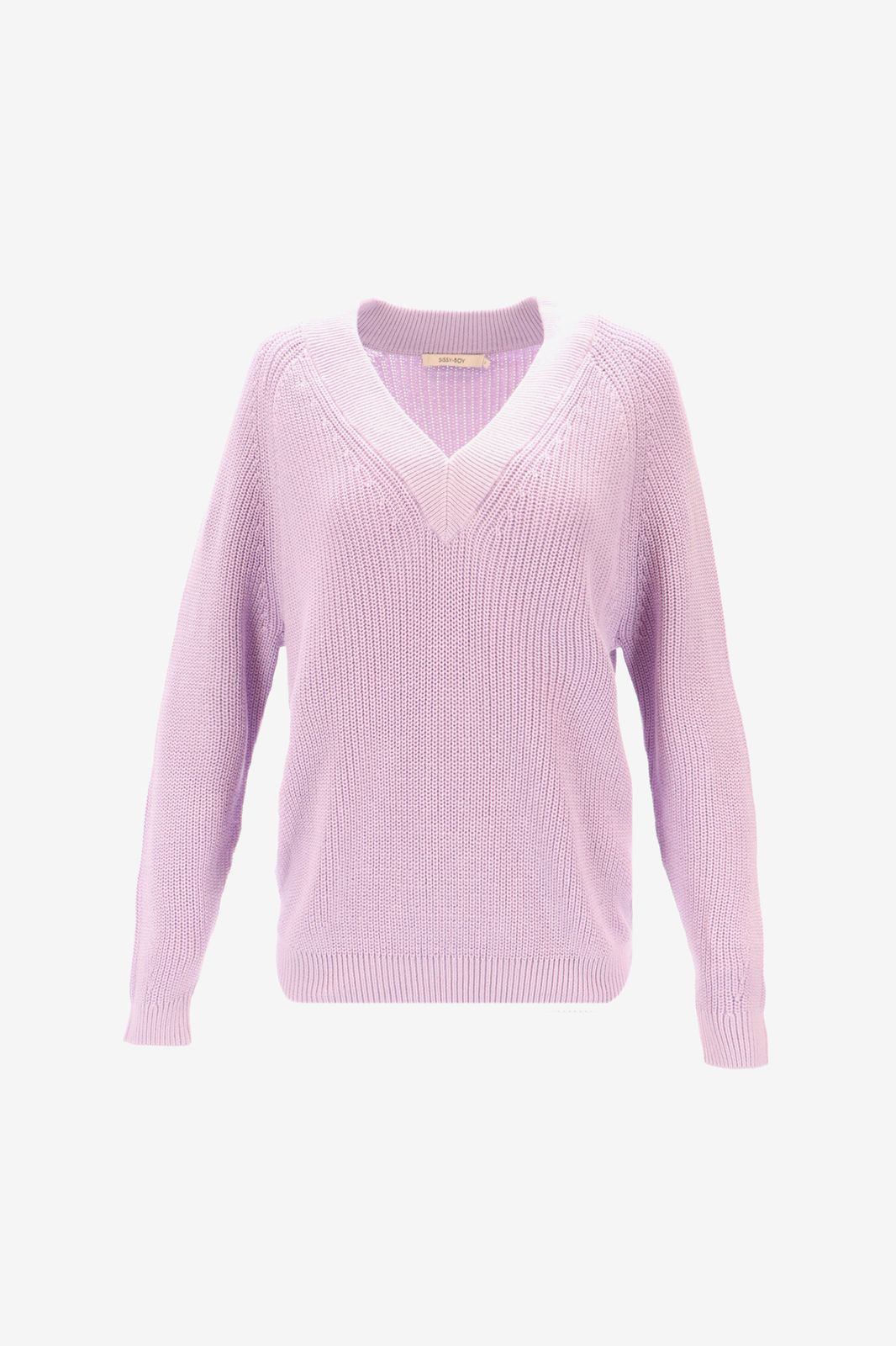 Lila rib sweater
