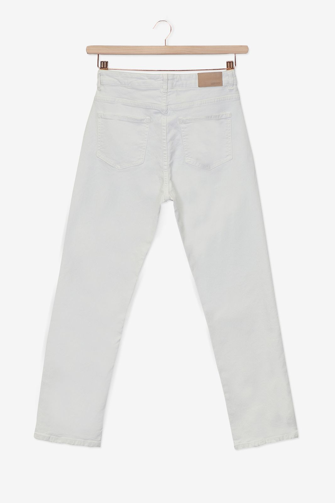 Offwhite broek straight fit