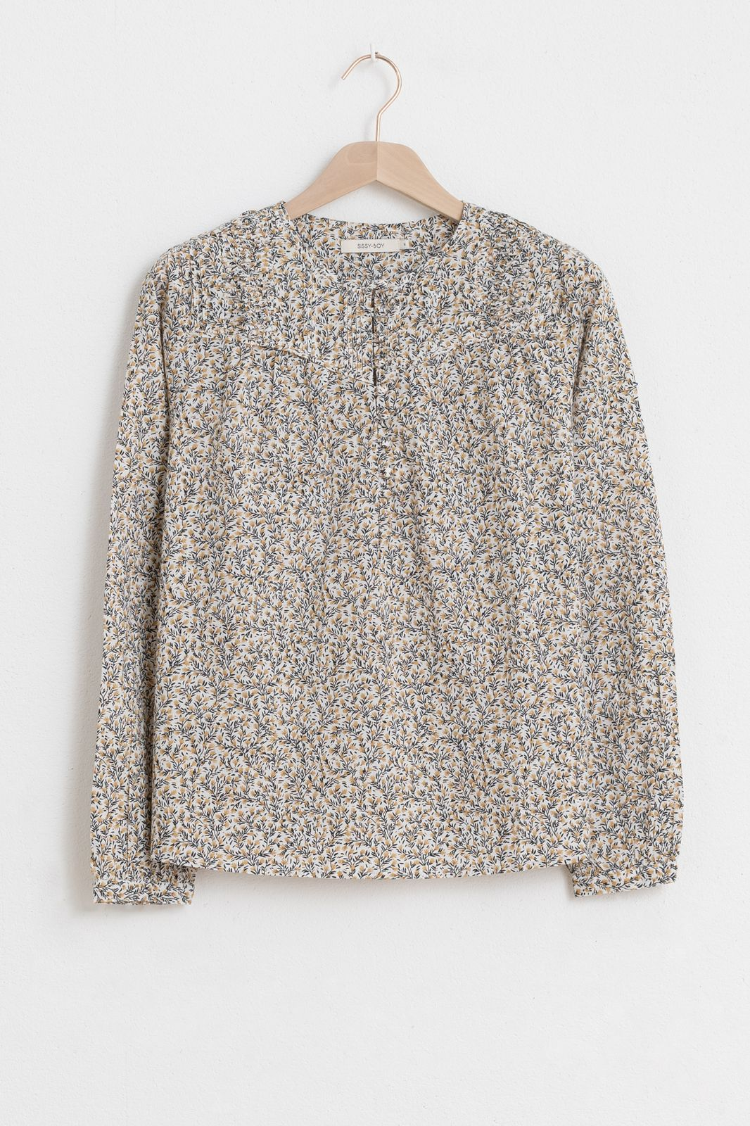 Katoenen blouse met multicolor print - Dames | Sissy-Boy
