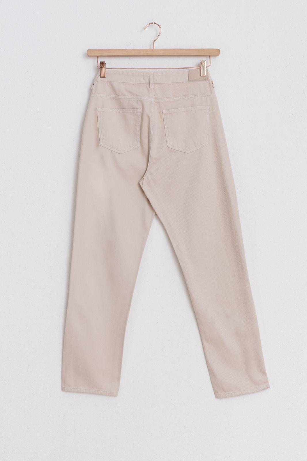 Offwhite broek straight fit - Dames   Sissy-Boy