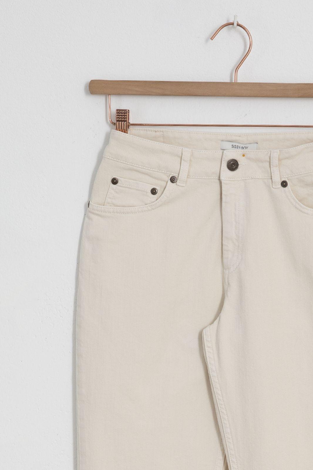 Offwhite 5-pocket jeans - Dames | Sissy-Boy