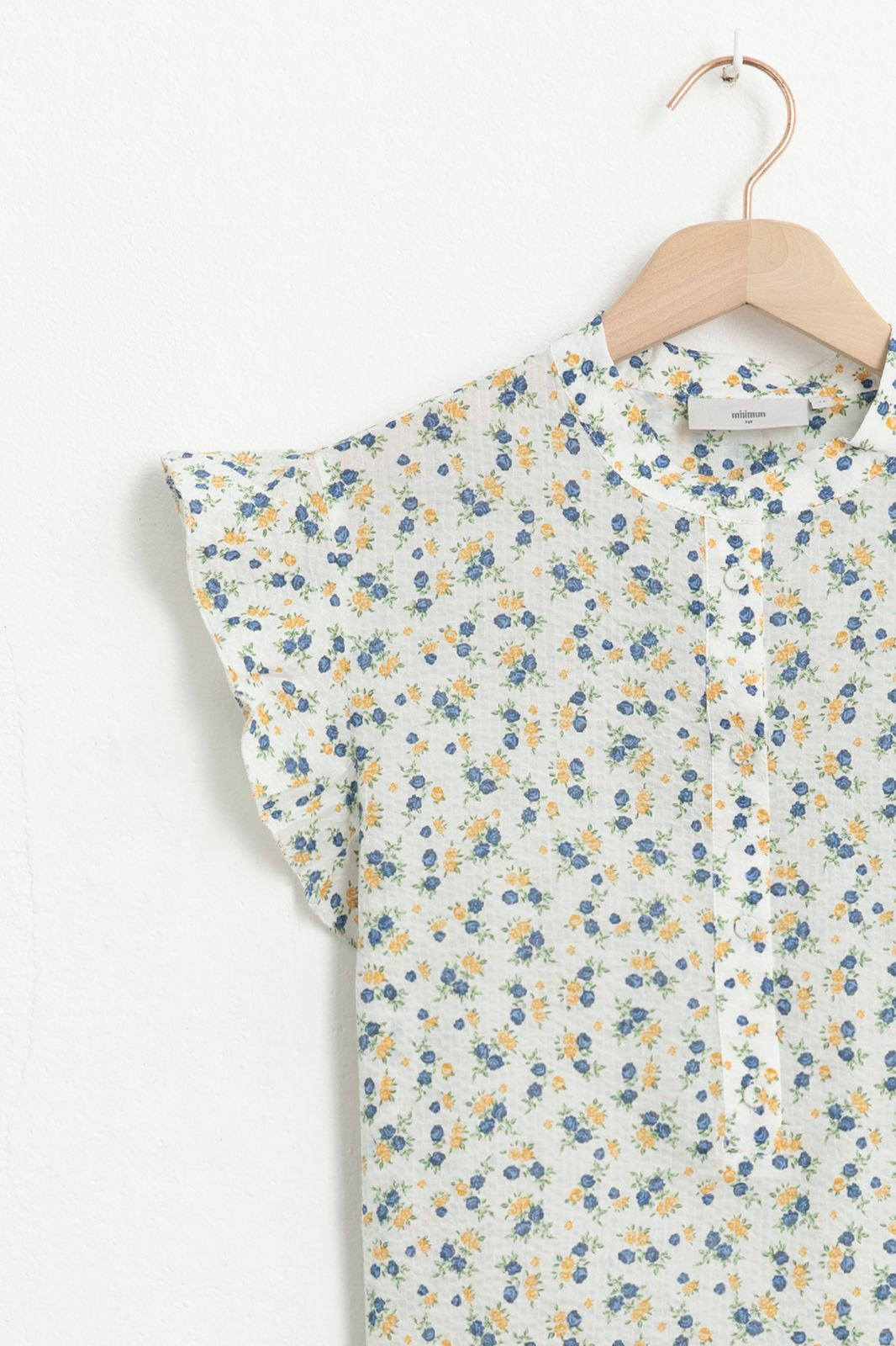 Witte blouse met bloemetjesprint - Dames | Sissy-Boy