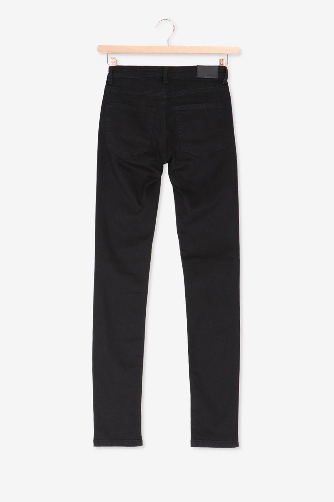 Zwarte high rise skinny jeans - Dames | Sissy-Boy