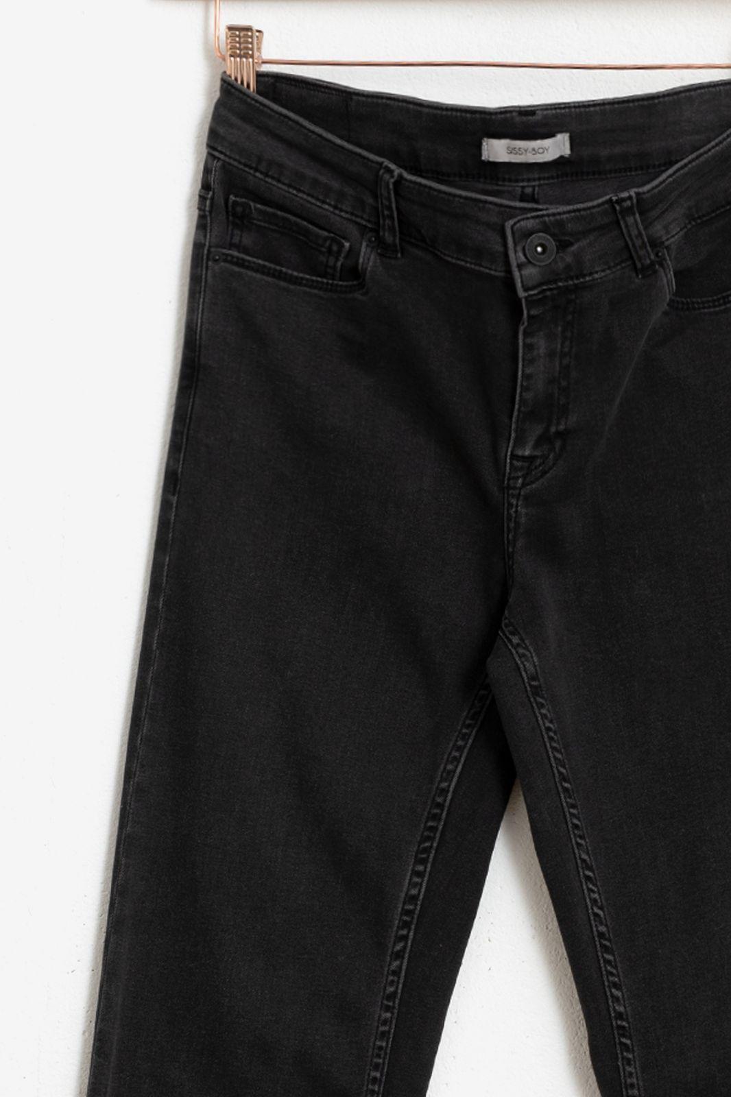 Zwarte flared jeans 5-pocket