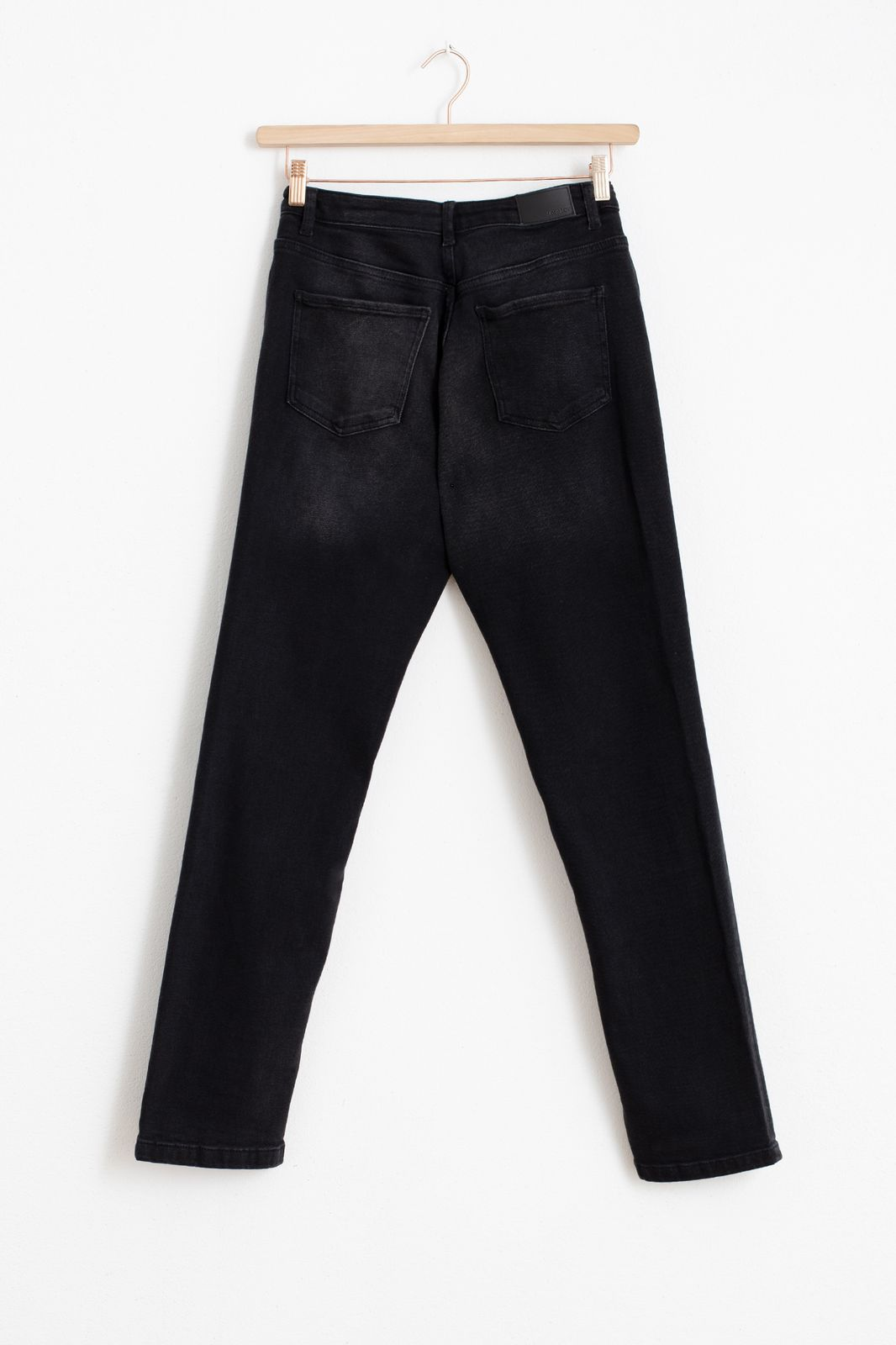 Zwarte tapered fit jeans - Dames | Sissy-Boy