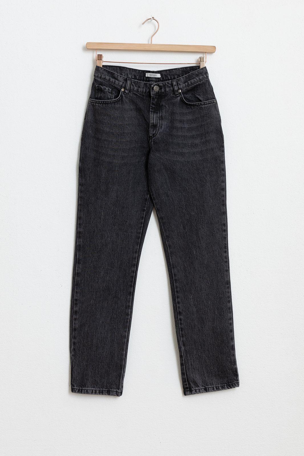 Zwarte 5-pocket jeans